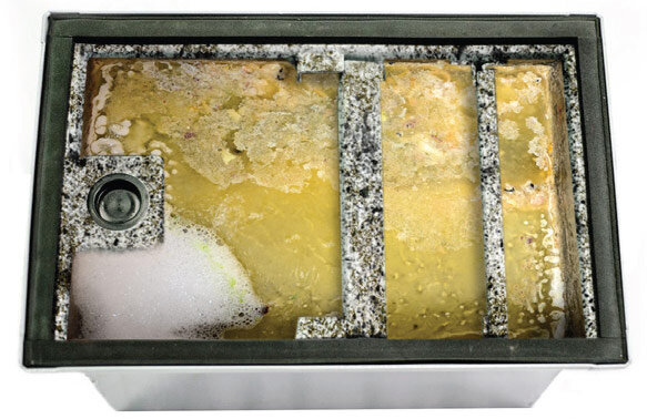 Clogged Grease Trap